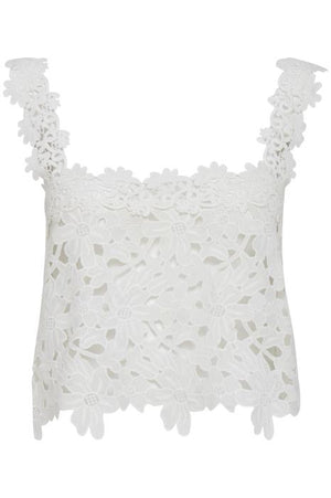 FLOR lace crop top