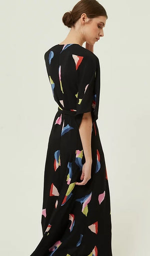 Jovonna London Power Wrap Maxi Dress