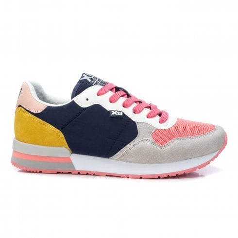 Xti Lucy Trainer - Pink/Navy