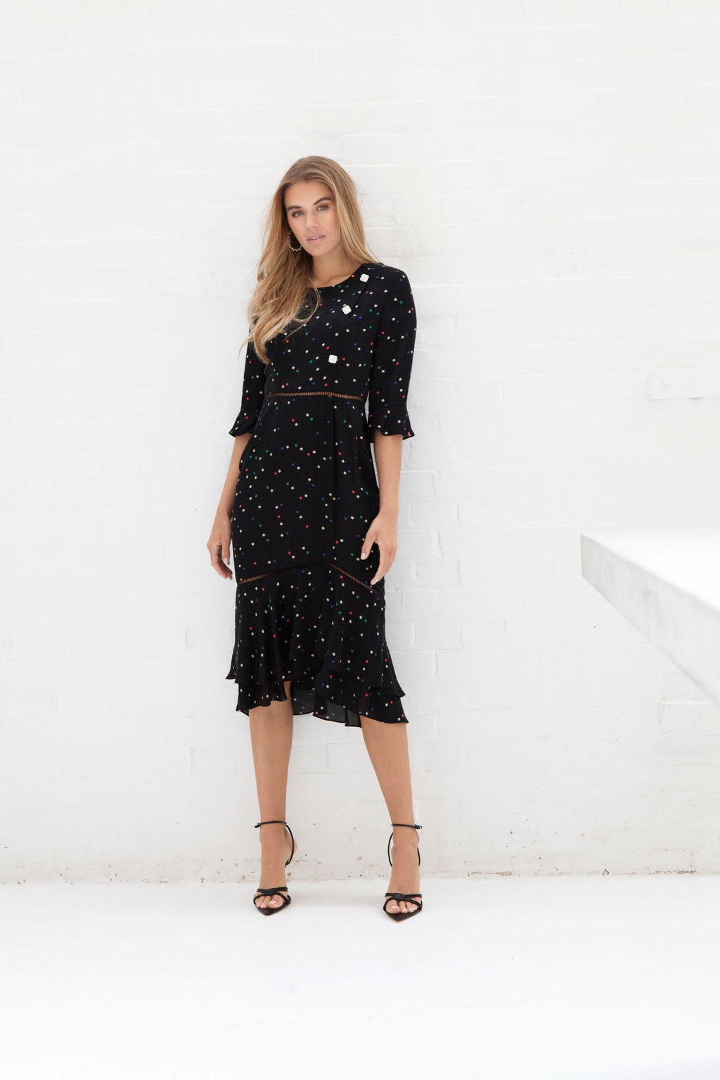 BELLAGIO star midi dress