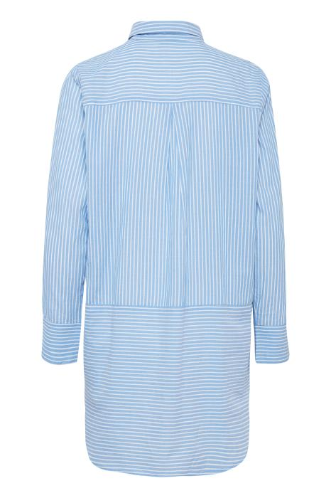 CAROLINE oversized pinstriped shirt