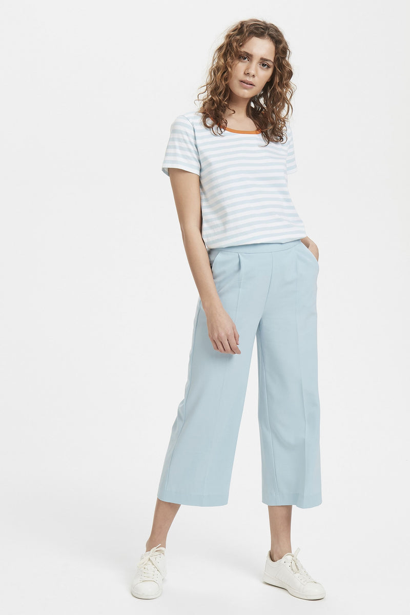 CANNY cropped trousers - blue