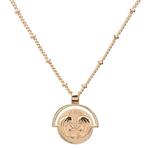 The Zodiac Collection pendant - gold plated (just select your star sign)