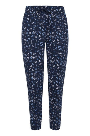 KATE PRINT cropped trousers