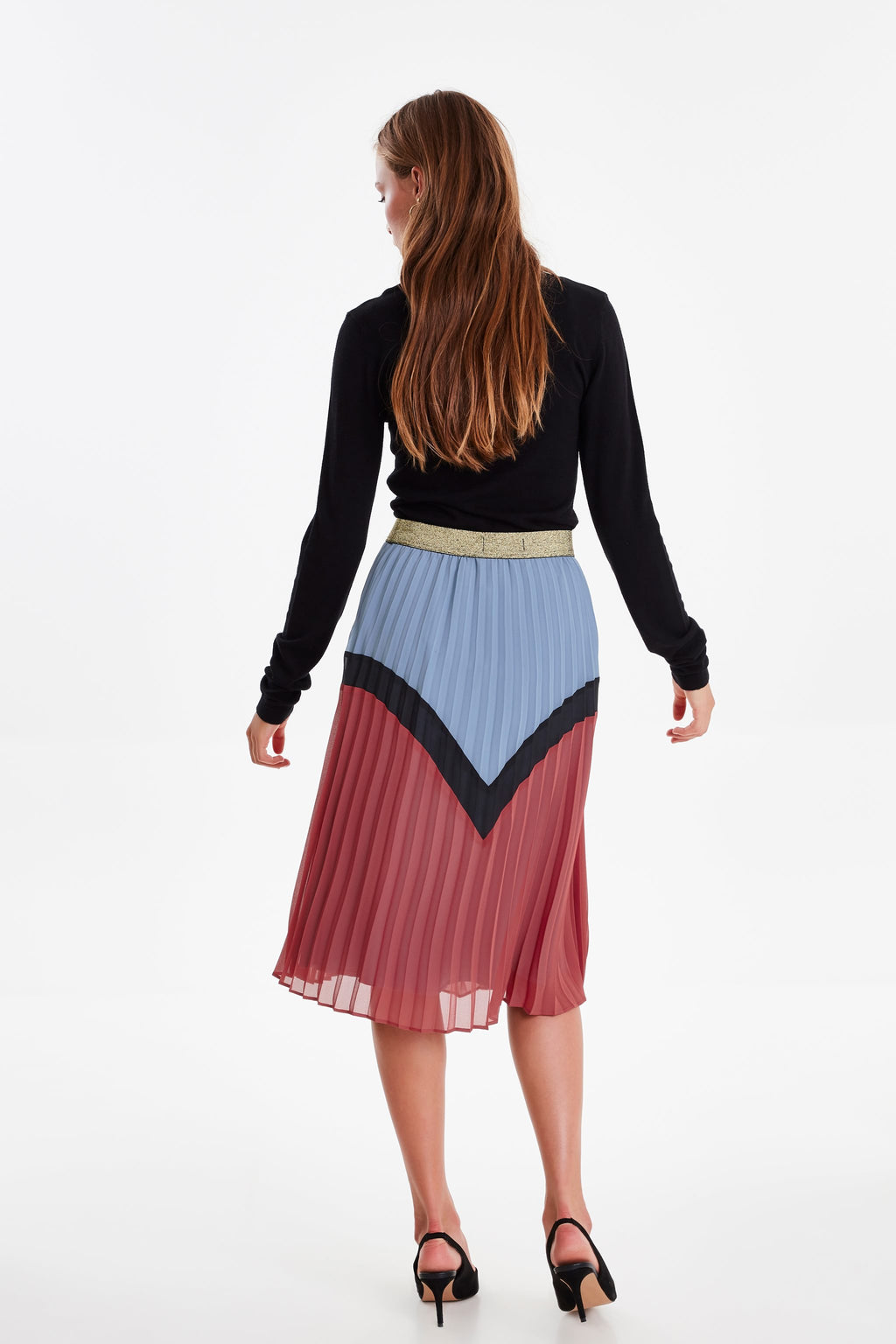 KENSLEY pleated skirt