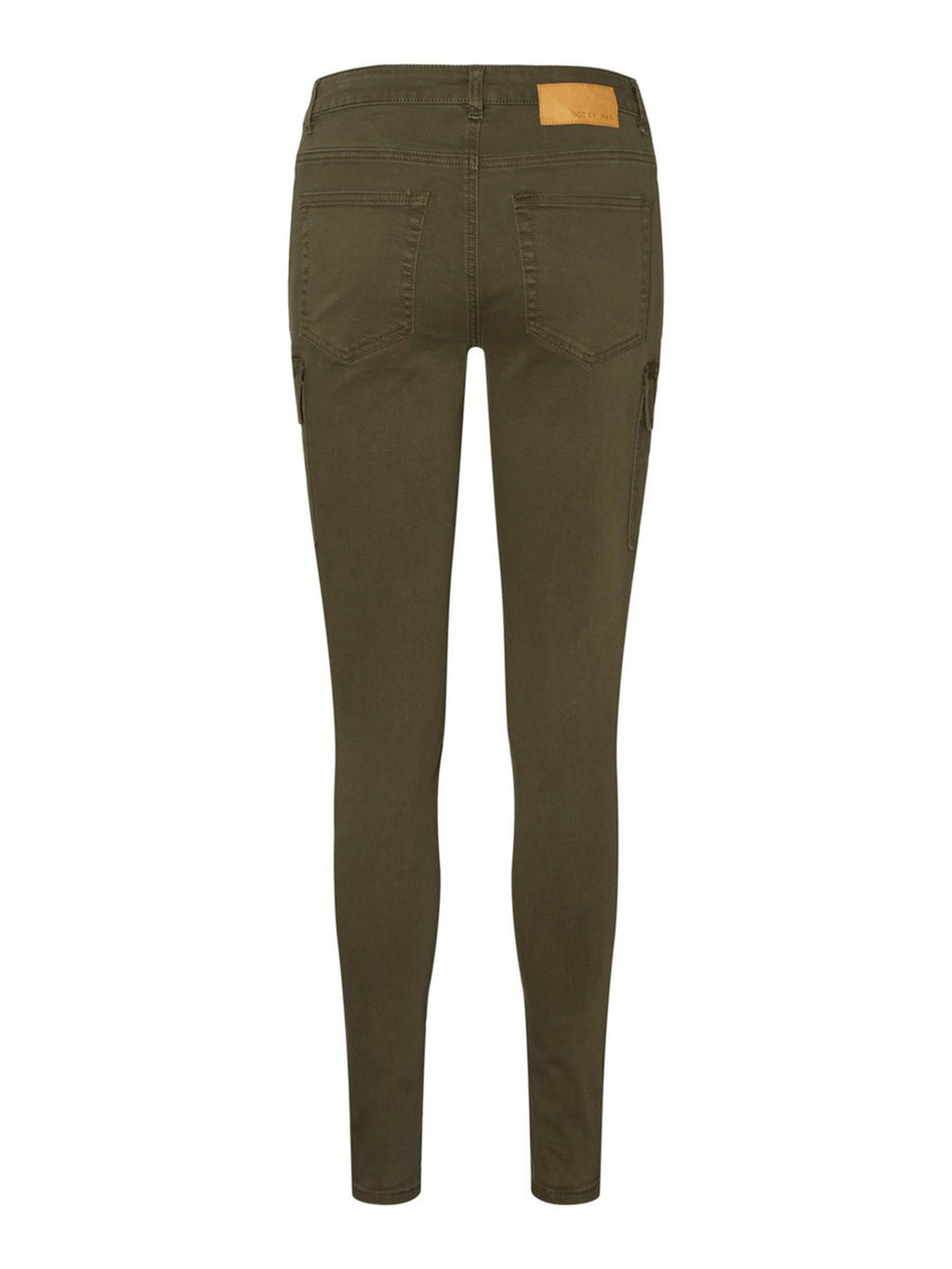 Noisy May Lucy Utility Trousers in khaki
