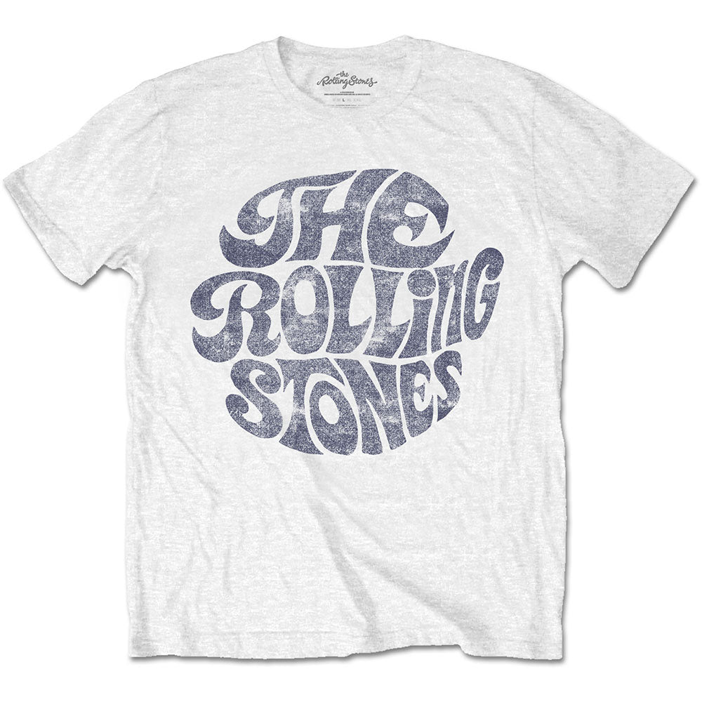 The Rolling Stones vintage 70s logo graphic band tee - white