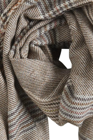 SMILLA woven scarf - brown sugar