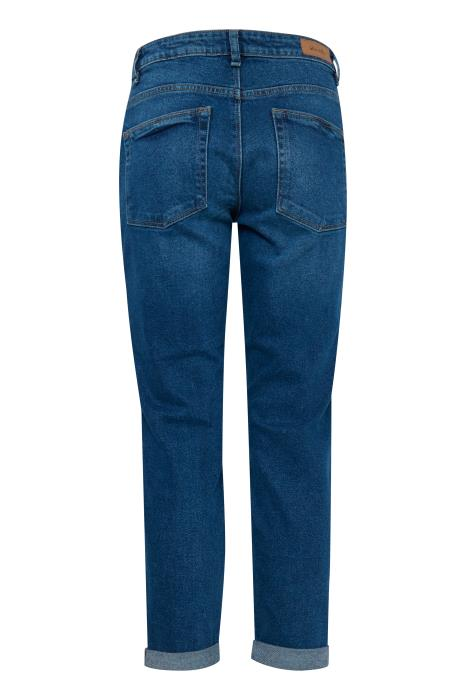 TESLAN casual crop denim jeans