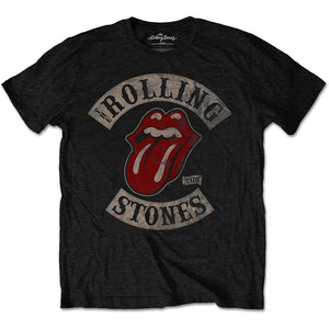 The Rolling Stones 1978 Tour logo graphic band tee - black