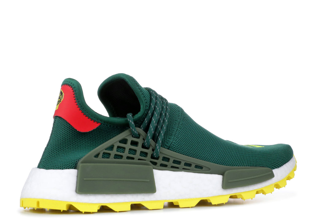premium selection 2ee36 ea898 Men ADIDAS NMD HU Pharrell Nerd Green Yellow – KD JAMES WARDROBE