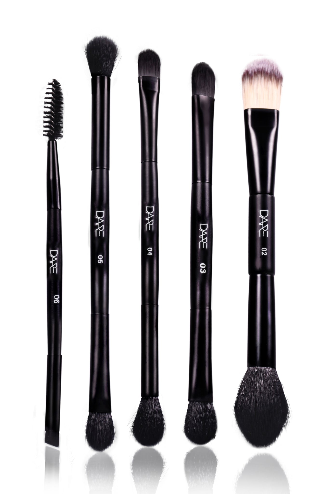 Set of 5 Dual Ended Brushes
