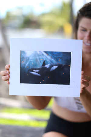 Open image in slideshow, Orca Print