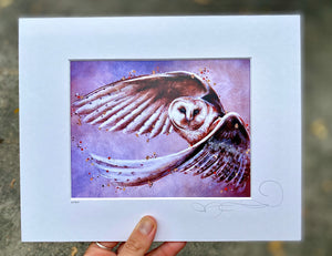 Open image in slideshow, Owl Print