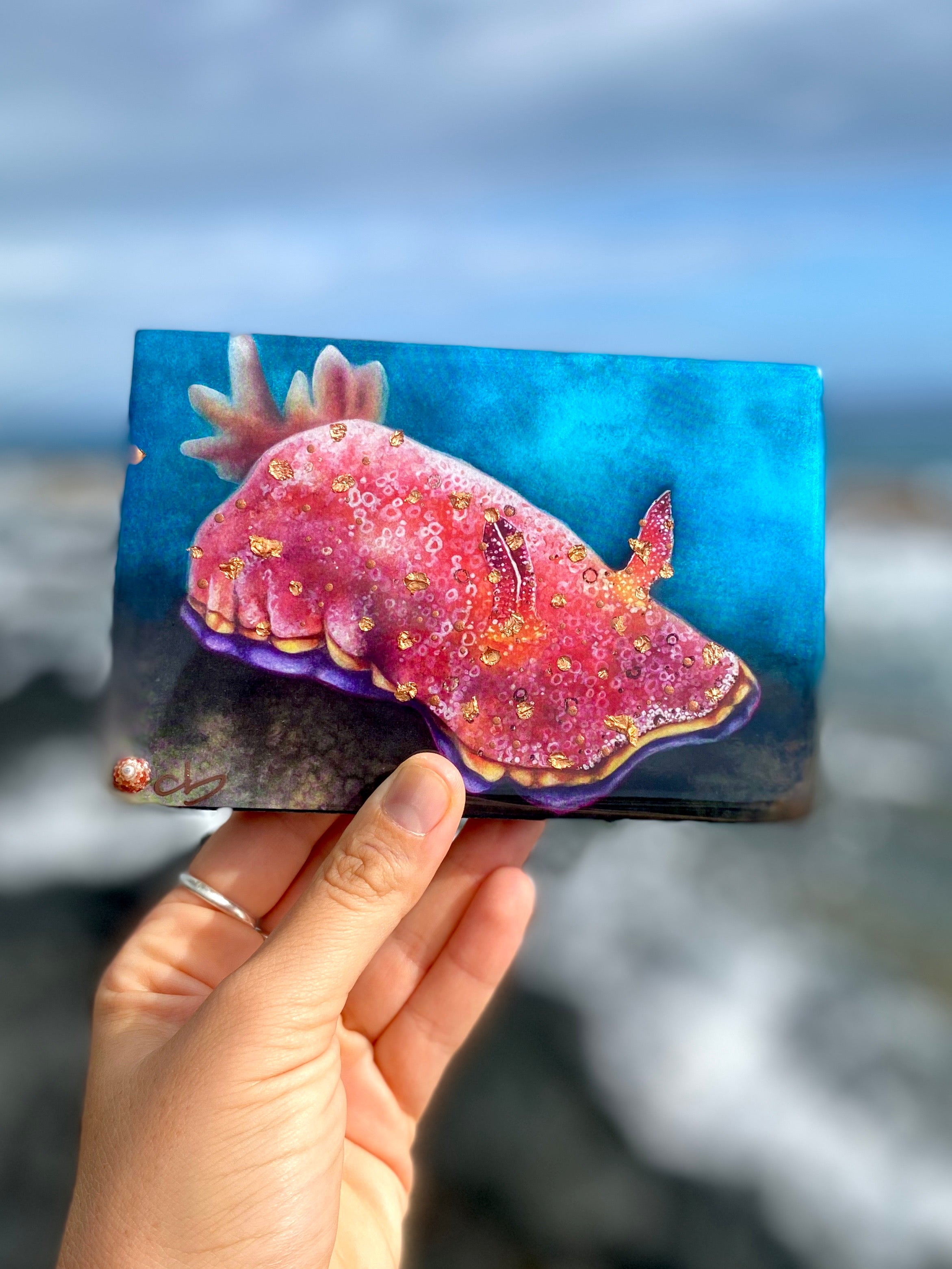 Nudibranch Resin