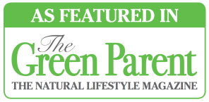As Featured in Green Parent Magazine Logo