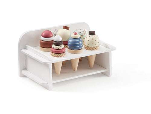Kids Concept Ice Cream Rack - Green Monkeys