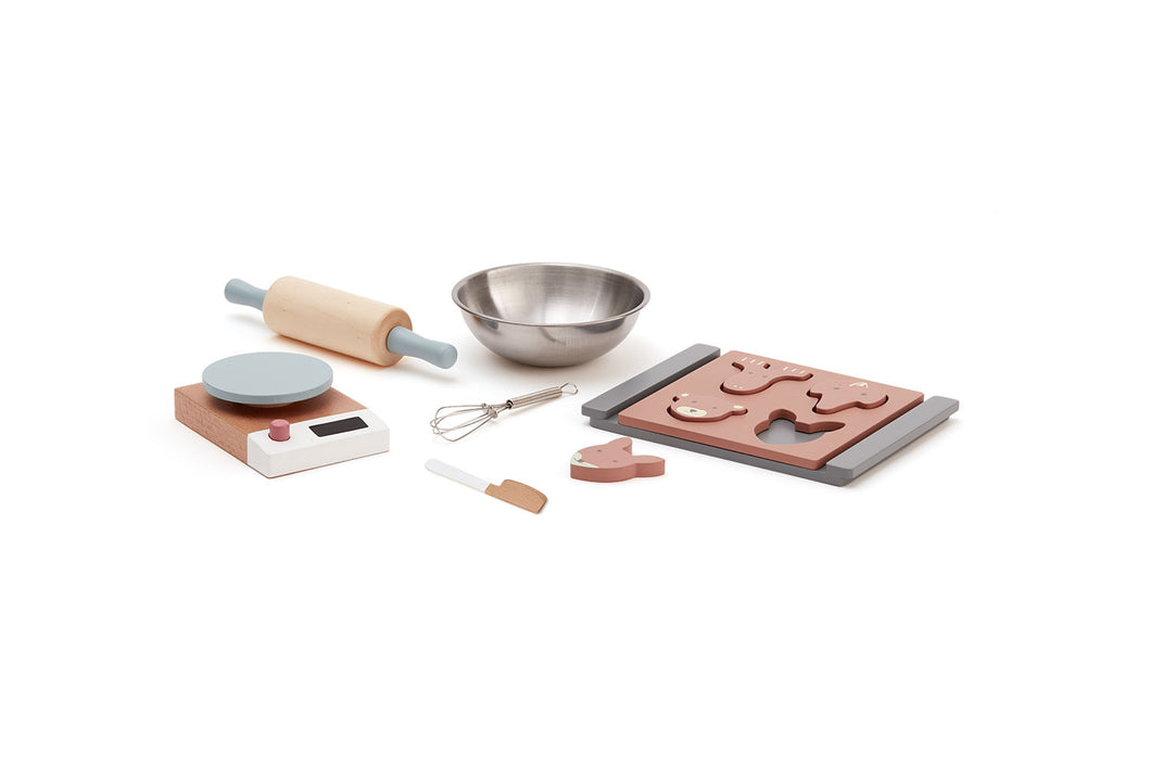 Kids Concept Baking Set - Green Monkeys