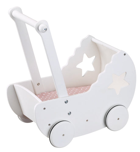 Kids Concept Dolls Pram Star - Green Monkeys