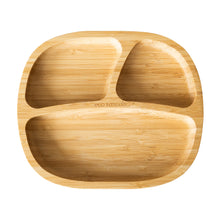 Load image into Gallery viewer, Eco Rascals Bamboo Toddler Plate - Yellow