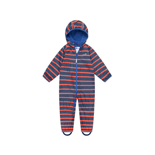 Muddy Puddles Ecosplash All-In-One Navy/Red Stripe - Green Monkeys