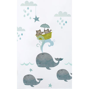 Koko Kids Owl & Pussycat Wall Stickers - Green Monkeys