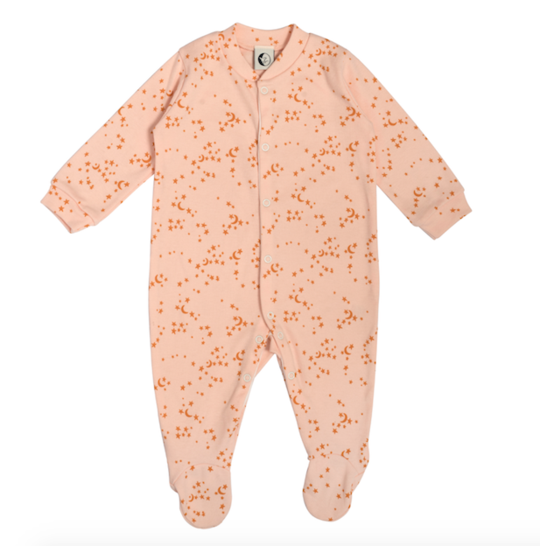 Morris Star Baby Sleepsuit - Green Monkeys