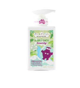 Jack N' Jill Serenity Bubble Bath, Natural Bath Time 300ML - Green Monkeys