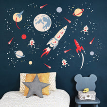 Load image into Gallery viewer, Space Rocket Wall Sticker - Two colours available - Green Monkeys