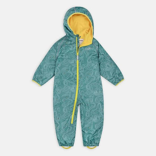 EcoSplash Fleece Lined Puddle Suit - Teal