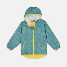 Load image into Gallery viewer, EcoSplash Fleece Lined Jacket - Teal