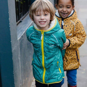 EcoSplash Fleece Lined Jacket - Teal