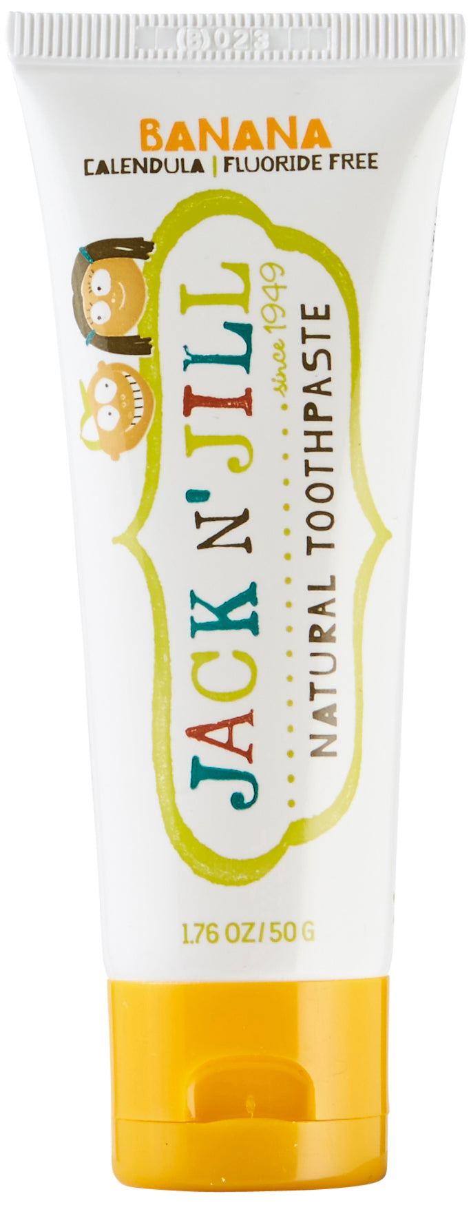 Jack N' Jill Natural Calendula Toothpaste Banana Flavour 50g/1.76oz - Green Monkeys
