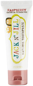 Jack N' Jill Natural Calendula Toothpaste Raspberry Flavour 50g/1.76oz - Green Monkeys