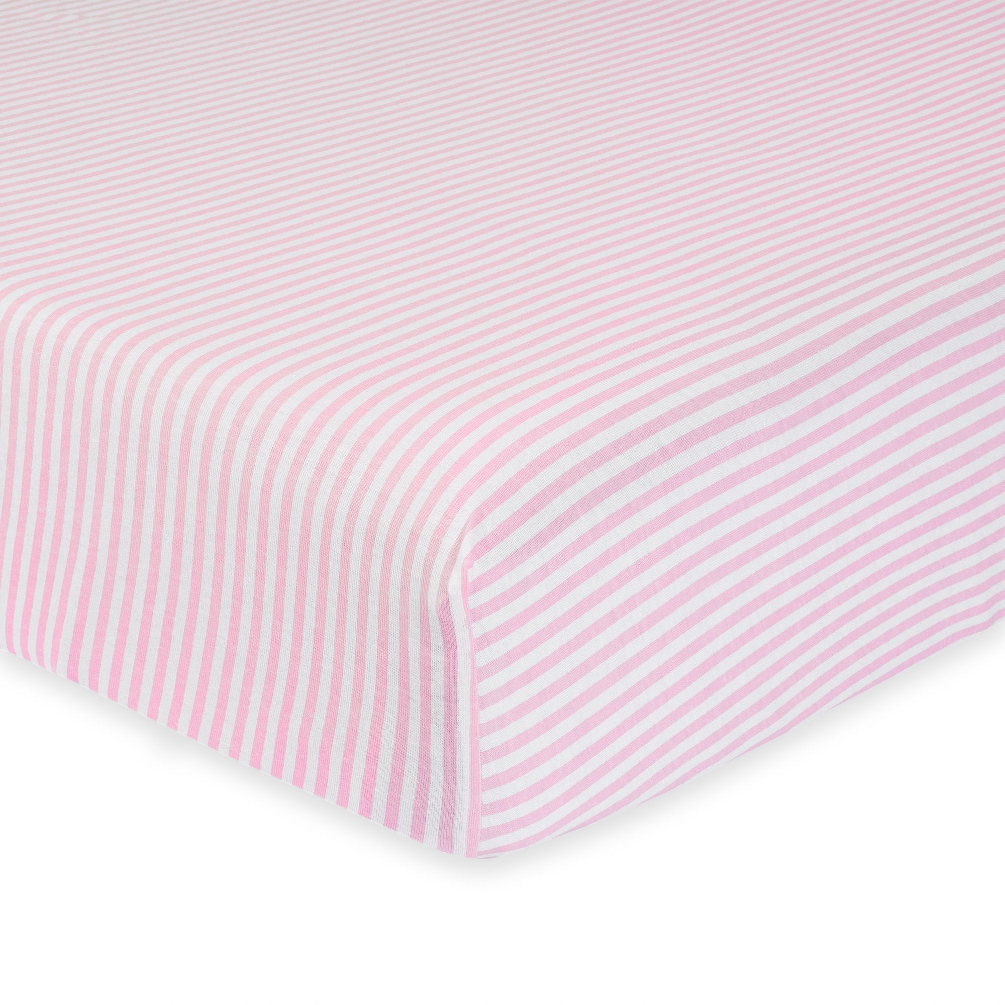 1-Pack Girls Pink Organic Fitted Crib Sheet-Gerber Childrenswear Wholesale