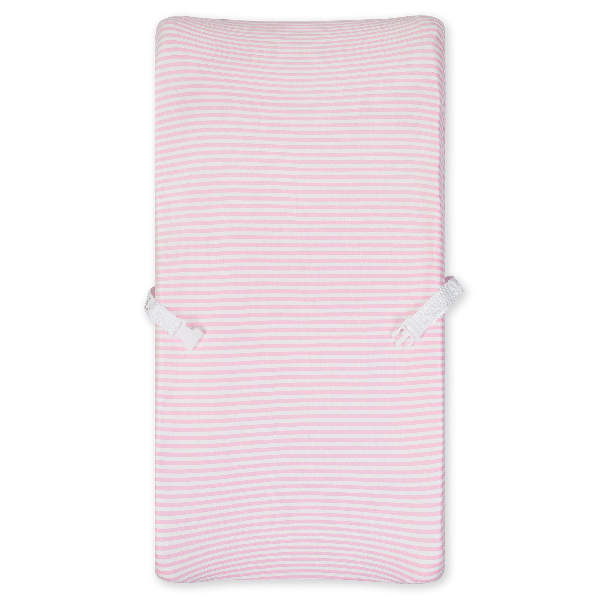1-Pack Girls Pink Organic Changing Pad Cover-Gerber Childrenswear Wholesale