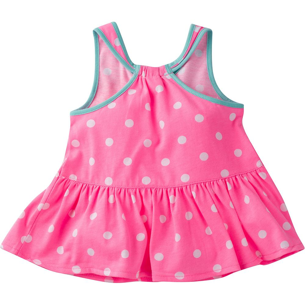 1-Pack Girls Pink Dots Top-Gerber Childrenswear Wholesale