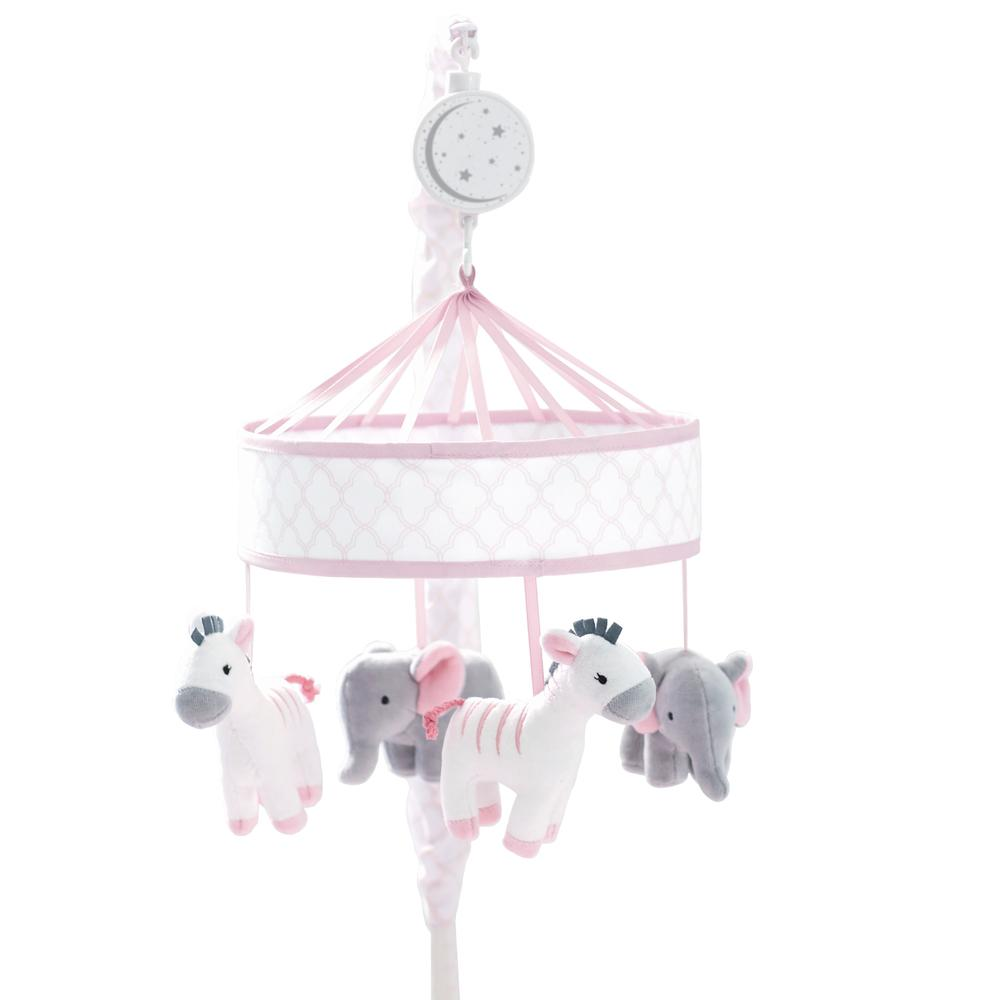 Just Born Dream Musical Mobile, Pink-Gerber Childrenswear Wholesale