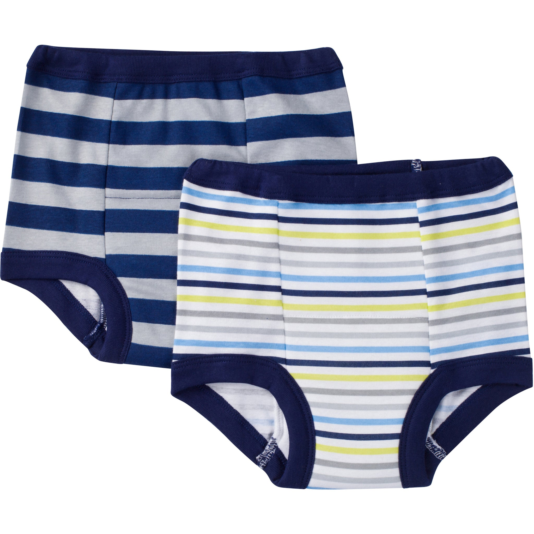 2-Pack Boys Striped Training Pants-Gerber Childrenswear Wholesale