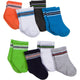 8-Pack Boys Wiggle-Proof Socks with Stay-On Technology-Gerber Childrenswear Wholesale