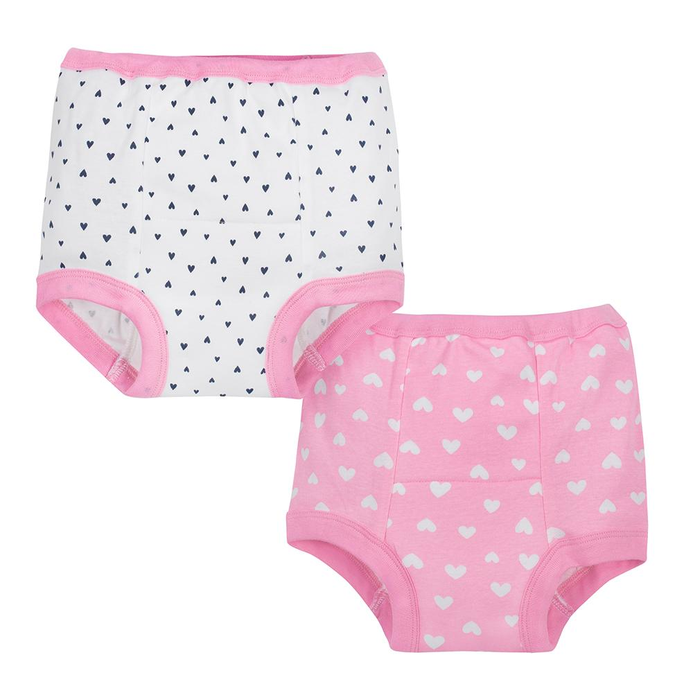2-Pack Girls Fox Training Pant-Gerber Childrenswear Wholesale