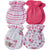 4-Pack Girls Bear Themed Mittens-Gerber Childrenswear Wholesale