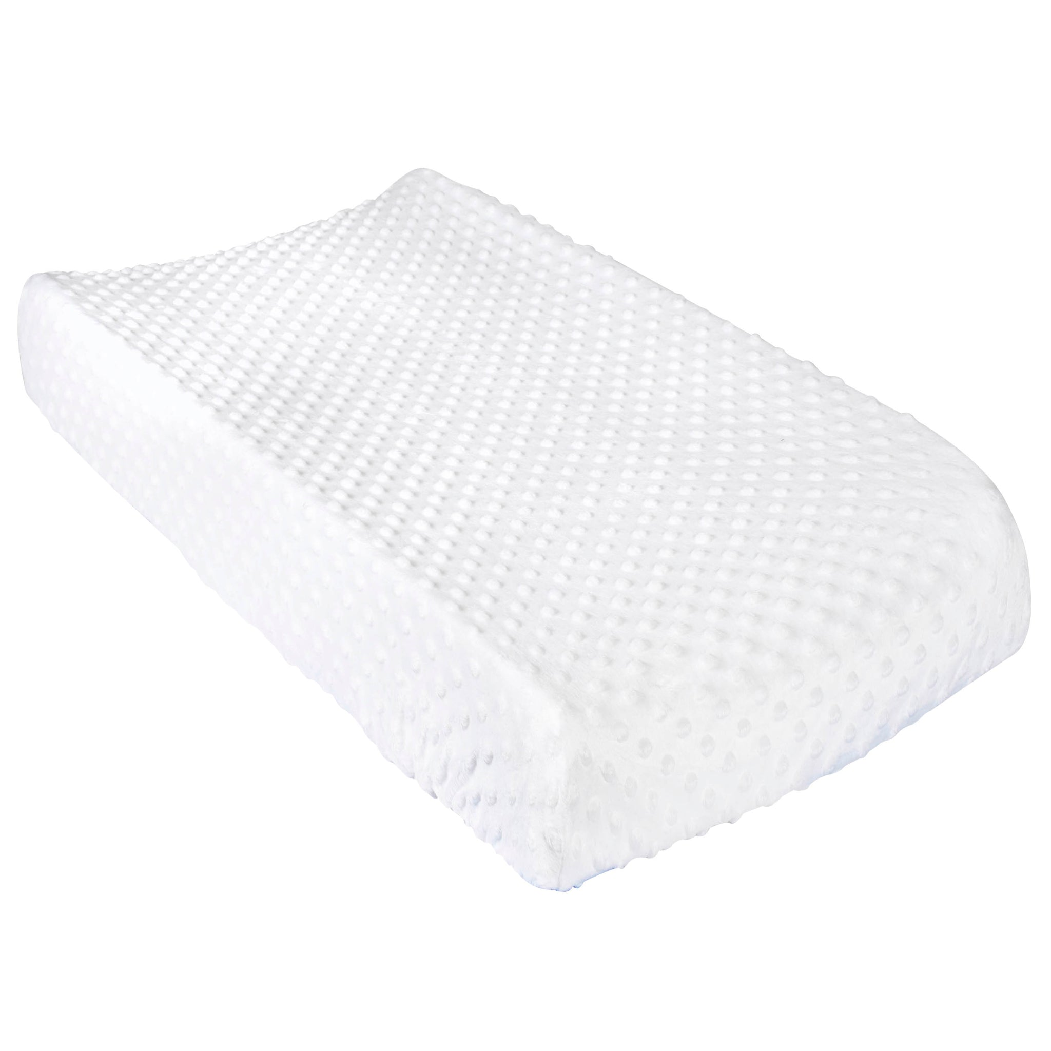 Baby Neutral White Changing Pad Cover-Gerber Childrenswear Wholesale