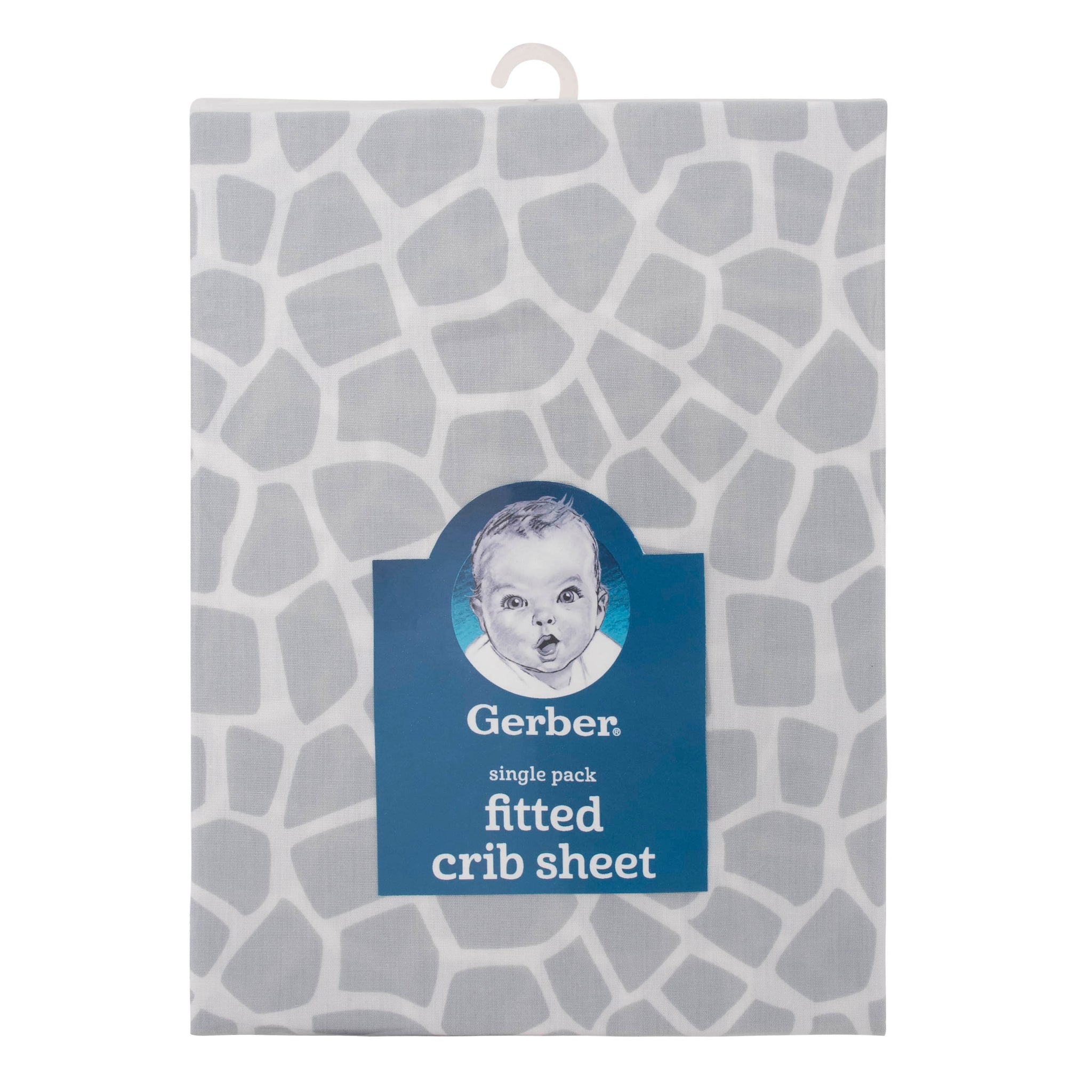 Baby Neutral Jungle Fitted Crib Sheet-Gerber Childrenswear Wholesale