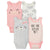 4-Pack Girls Kitten Sleeveless Onesies® Bodysuits-Gerber Childrenswear Wholesale