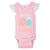 4-Pack Girls Ice Cream Sleeveless Onesies® Bodysuits-Gerber Childrenswear Wholesale