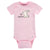 8-Pack Baby Girls Bunny Short Sleeve Onesies® Bodysuits-Gerber Childrenswear Wholesale