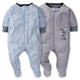 2-Pack Baby Boys Bear Sleep N' Play-Gerber Childrenswear Wholesale