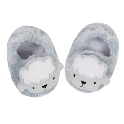 1-Pack Neutral Lamb Velboa Booties-Gerber Childrenswear Wholesale