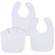 Gerber® 3-Pack White Dribbler Bibs-Gerber Childrenswear Wholesale